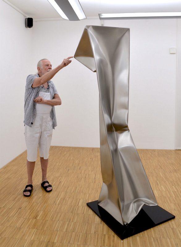 Ewerdt Hilgemann 2017 in der Galerie Geiger in Konstanz