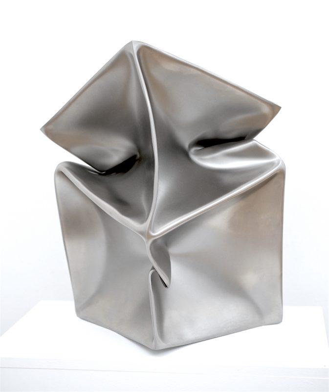 Ewerdt Hilgemann, Double, 2010, Edelstahl, 60 x 30 x 30 cm
