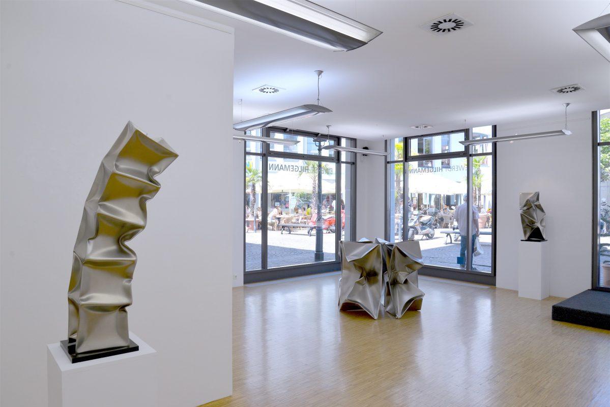Installation view, Ewerdt Hilgemann, Galerie Geiger Konstanz.