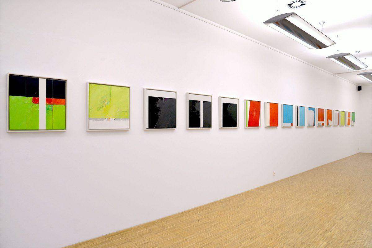 Günther C. Kirchberger: Powerful – Arbeiten des Spätwerks